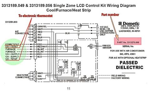 dometic thermostat wiring diagram magnificent design