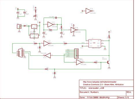 Make A Simple Sim Card Reader Circuit Electrical