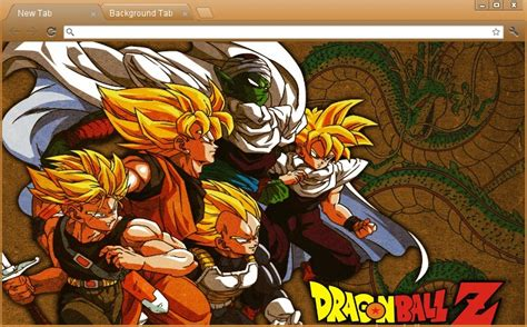 dragon ball z themes for google chrome 7xworld 10 temas para google chrome 3 iron maiden