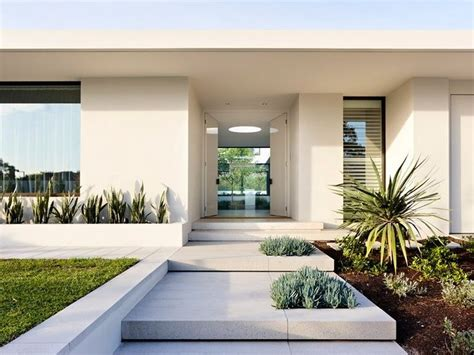 entrance design for modern home with white exterior paint color schemes nytexas