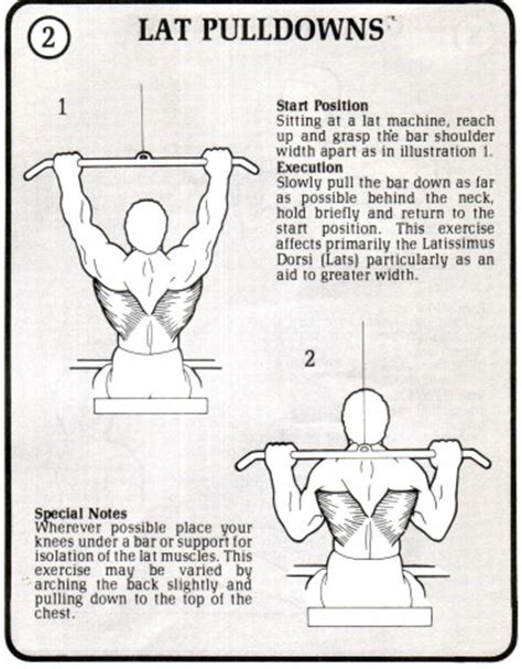 lat pull downs muscles workouts for and and