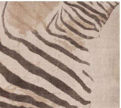 Zebra Rug Pottery Barn Zebra Printed Rug Pottery Barn