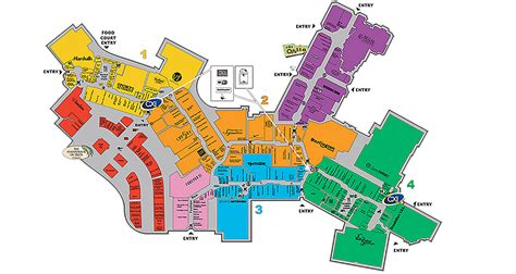 Ibn Battuta Mall Floor Plan by Sawgrass Mall Map Sawgrass Mall Shuttle