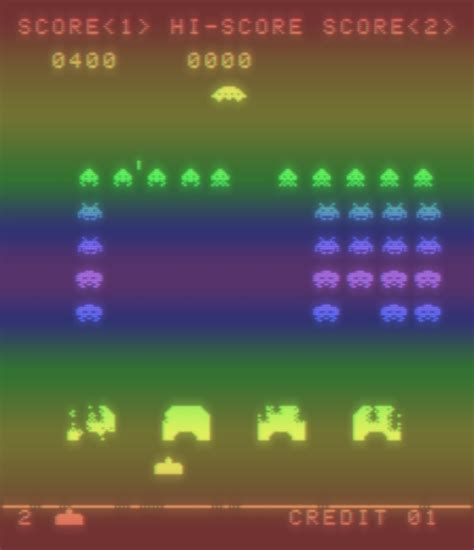 Space Invaders by Space Invaders Bomb
