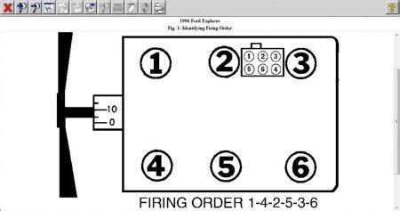 Ford Ranger 3 0 Firing Order Firing Order Ford Ranger 4 0 1999 Autos Post