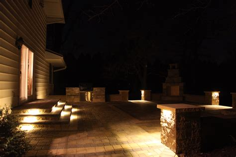 Outdoor Kitchen Lighting Rochester Lakeville Owatonna Faribault Kenyon Cannon Falls Apple Valley Northfield Mn