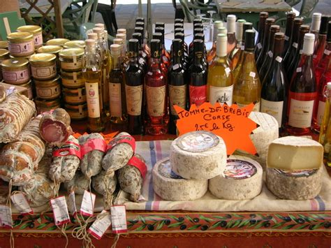 Informations La gastronomie Corse