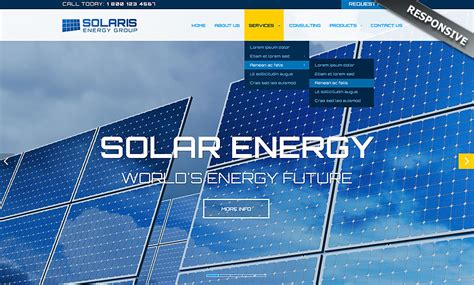 bootstrap themes energy solar energy bootstrap template id 300111856 from