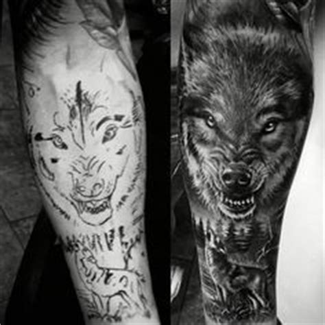 the 25 best wolf tattoo sleeve ideas on pinterest wolf