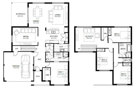 2 Storey House Floor Plan Autocad Lotusbleudesignorg | remarkable 2 storey house floor plan autocad