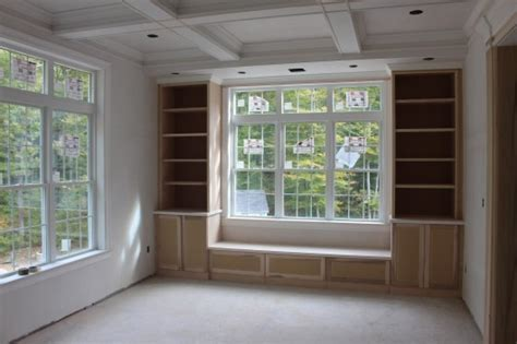 bookcase bench seat bookcase and bench seat custom home finish