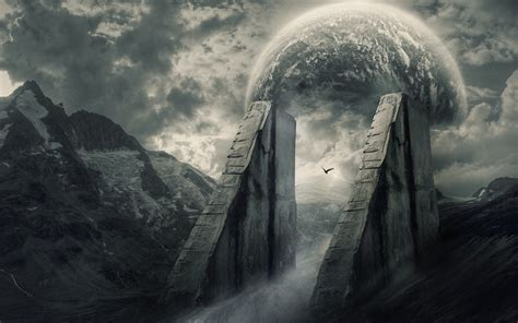 Gate to the dark world Wallpaper #4992   Desktop