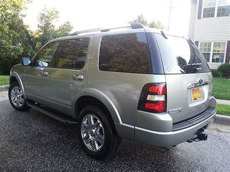 how petrol cars work 2008 ford explorer sport trac windshield wipe control purchase used 2008 ford explorer limited sport utility 4 door 4 0l in nottingham maryland