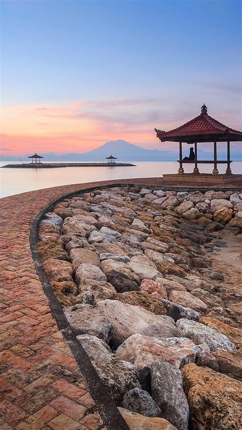 karang beach sanur bali indonesia windows