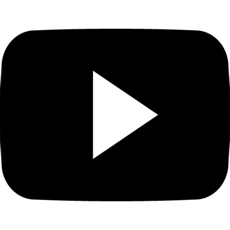 black youtube black and white youtube icon pictures to pin on pinterest