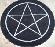 Pentagram Rug by Altar Rugs