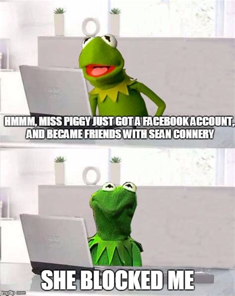 Kermit The Frog Meme Generator - hide the pain kermit imgflip