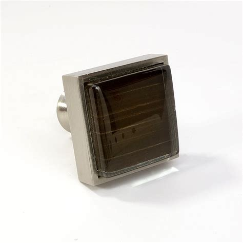 square cabinet knobs nickel crystal glass brushed nickel square knob modern cabinet