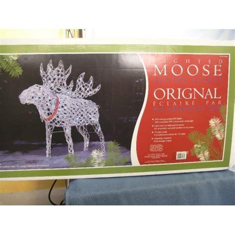 christmas lighted moose 160 led lights allsold ca buy