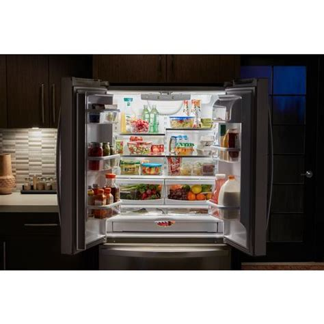 whirlpool counter depth refrigerator door wrf540cwhb whirlpool 36 quot 20 cu ft counter depth