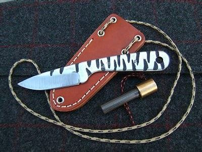 Survival Tips Tools And Techniques Small Tiger Knapp By