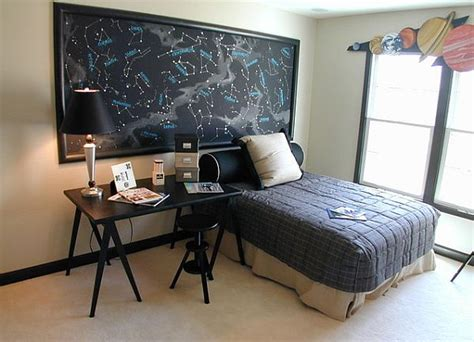 science bedroom decor decorating with a space theme