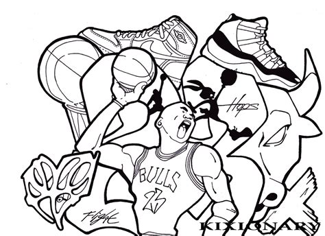 Chicago Bulls Coloring Pages Coloring Home Chicago Bulls Coloring Pages