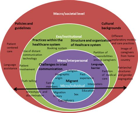 social challenge definition a socioecological model of challenges in caring for