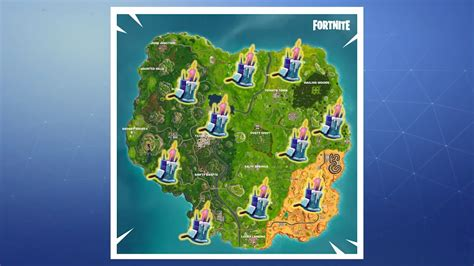 fortnite birthday cake fortnite where to find all 10 battle royale birthday