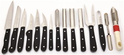 Kitchen Forks And Knives Chefs Knives From Remington Steel Arts Vegetable Knives