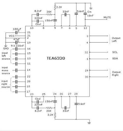 integrated circuit volume world technical multichannel audio selector and volume