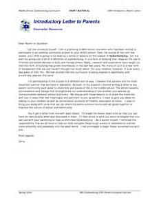Introduction Letter To Parents Parent Student Letter Sle Pictures To Pin On Pinsdaddy