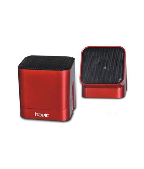 Havit 2 0 Speaker Hv Sk113 buy havit usb speakers 2 computer speakers black