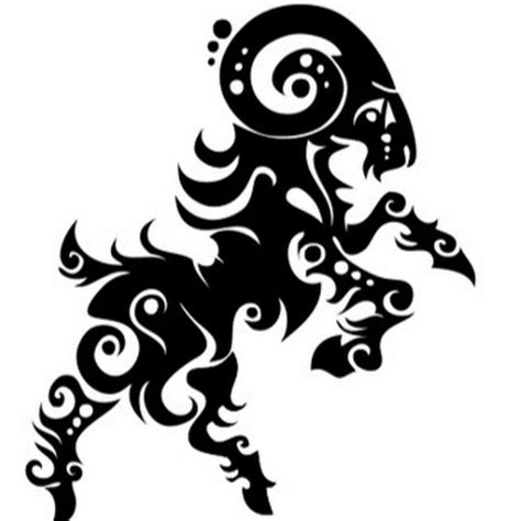 10 Aries Tattoo Designs And Ideas Tribal Aries Ram