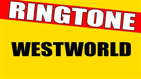 don theme ringtone westworld theme song ringtone youtube