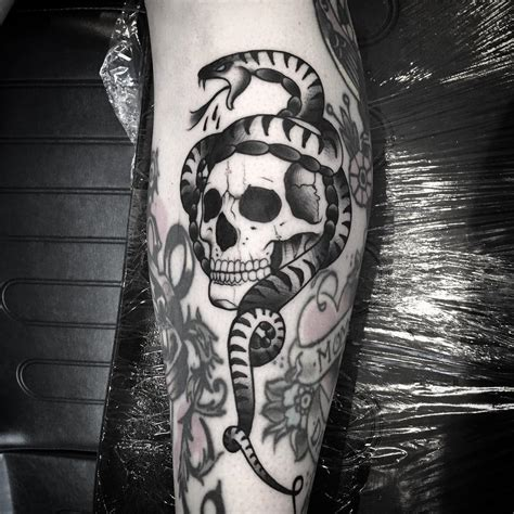 snake and skull tattoo designs 35 amazing skull and snake tattoos