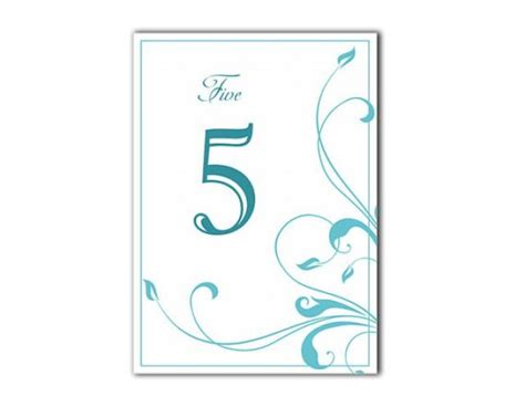 printable table numbers 1 20 table numbers wedding table numbers printable table cards