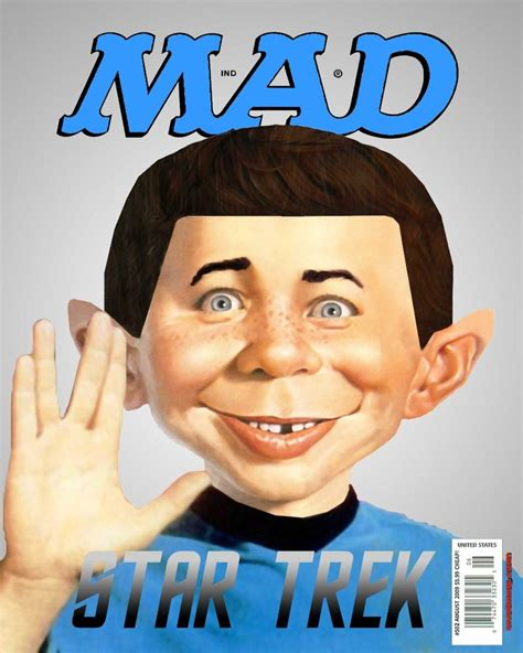 mad magazine star trek themed mad magazine it s a quot mad quot world