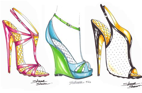how to design a shoe shoes design drawing at getdrawings free for