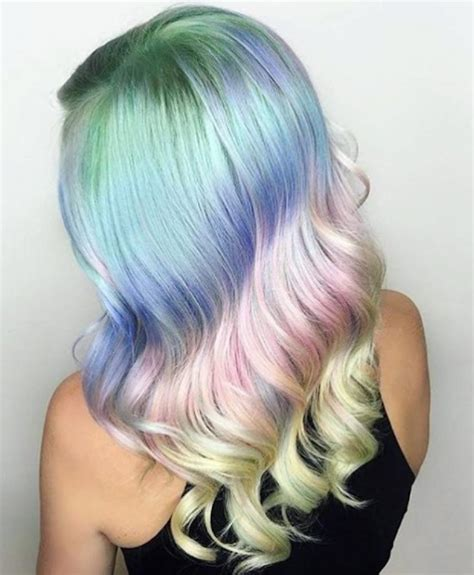 unicorn hair this is how to get unicorn hair without permanently