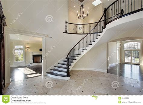 interior design foyer stock image image of vanity wall foyer with circular staircase stock image image 12655785