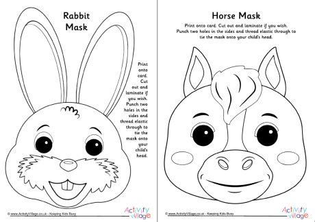 new year animal masks to colour zodiac animal masks set 1 black and white