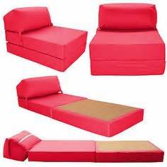 Cotton single chair bed z guest fold out futon sofa chairbed matress