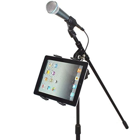 chargercity mic microphone stand tablet mount with 360 176 import it all