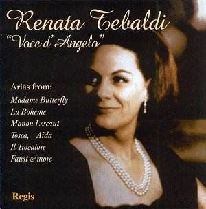 Hj Butterfly Tosca Tebaldi Quot Voce D Angelo Quot Rh Classical Cd Reviews