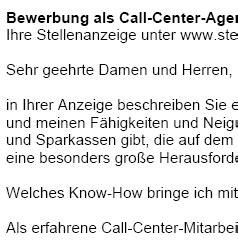 Center Bewerbung Bewerbung Call Center Ungek 252 Ndigt Berufserfahrung Sofort