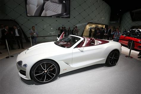 Bentley Owned By Vw Bentley Exp12 Speed 6e Concept Revealed Daily Mail