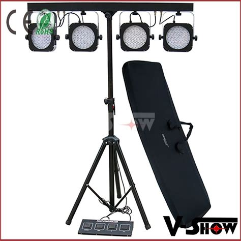 Lighting Equipment by Stage Lighting Equipment 4pcs Pack Led Par Light 145x10mm Rgb Tri Colored Led Par Can Buy 4pcs