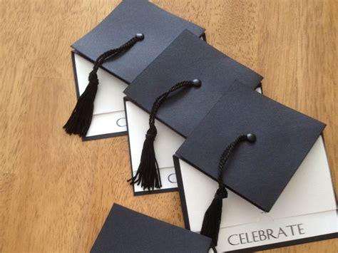 Handmade Graduation Announcements - graduation cap invitation large