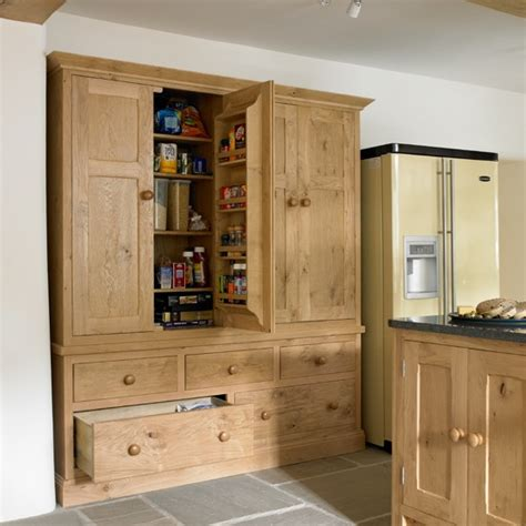 cabinets that look like furniture bespoke kitchen larder
